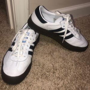 Adidas Samba double sole shoes